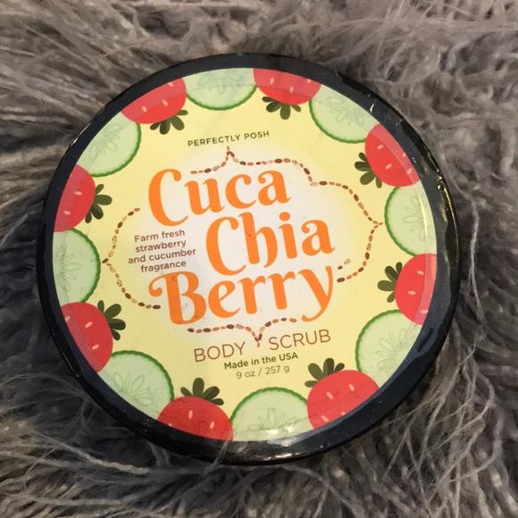 Posh Other - Posh cuca chia berry body scrub